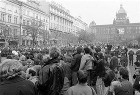 Le 28 octobre 1988, photo: CTK