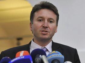 Presidente del Colegio de Médicos, Milan Kubek. Foto: ČTK