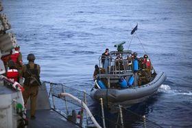 Nueve personas murieron y decenas resultaron heridas en el abordaje israelí al barco turco. Foto: ČTK