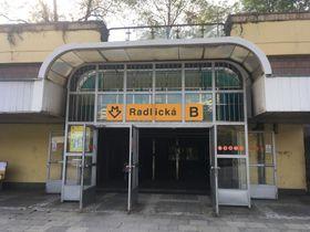 Radlická metro station, photo: Ian Willoughby