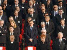 Pohřeb obětí teroristického útoku v Madridu, katedrála Almudena, foto: ČTK