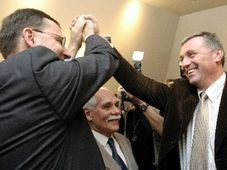 The victory of the Civic Democrats, photo: CTK