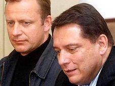 Pavel Ploc and Jiri Paroubek, photo: CTK