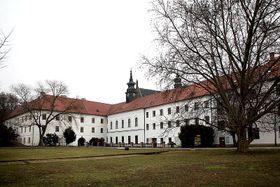 Augustinian monastery in Brno, photo: Misa.jar, CC BY-SA 3.0 Unported
