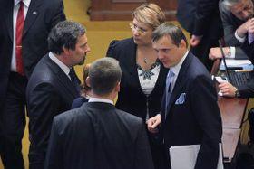 Abgeordnete der Partei der öffentlichen Angelegenheiten (Foto: Archiv des Regierungsamtes der Tschechischen Republik)