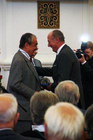 Gratias Agit 2011: Karel Schwarzenberg und Nikolaus Lobkowicz (Foto: Barbora Kmentová)
