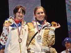 Martina Sáblíková y Eva Samková, foto: ČTK
