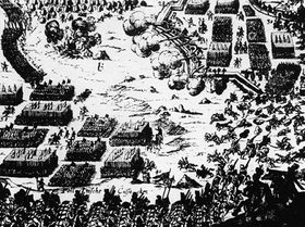 Battle of White Mountain in 1620