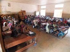 Škola v Bamaku, kterou založila Dana Bartáková, foto: archiv Armády ČR