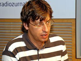 Petr Blažek, photo: Šárka Ševčíková, Czech Radio