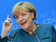 Angela Merkelová, foto: ČTK