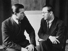 Иржи Тракслер и Ярослав Ежек, 1938 г. (Фото: Free Domain)