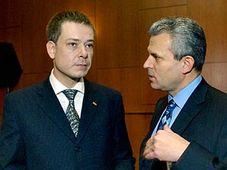 Pavel Nemec und Karel Kühnl (Foto: CTK)