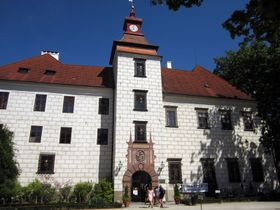 Castillo de Třeboň, foto: Martin Němec