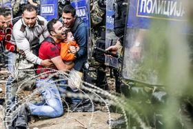 Migranten aus Syrien (Foto: Freedom House, Flickr, Public Domain)