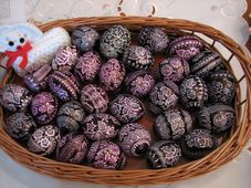 Painted eggs, photo: Martina Schneibergová