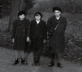Zleva Rudy, Petr aHugo, foto: osobní archiv Hugo Maroma
