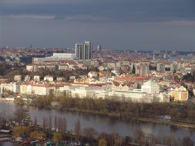 Вид на столичный район Подоли, Фото: Милош Турек, Чешское радио - Радио Прага