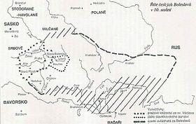 Říše českých Boleslavů v10.století