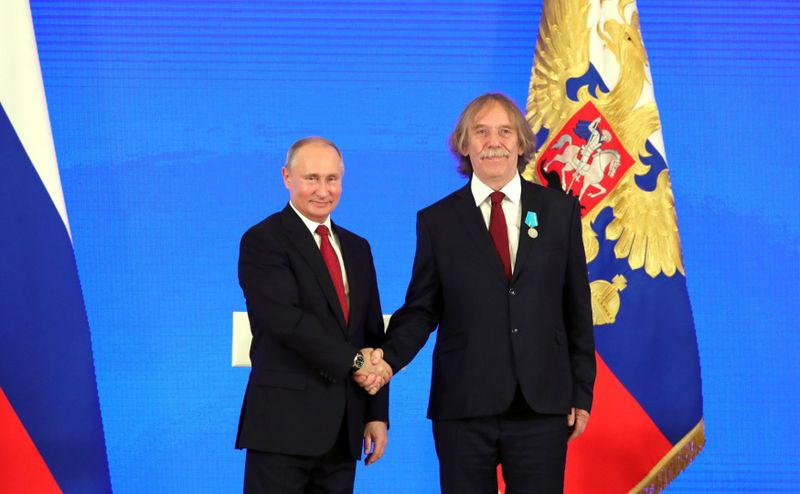 Владимир Путин и Яромир Ногавица, фото: ЧТК/kremlin.ru