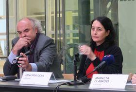 Jiří Fajt aAnna Pravdová, foto: Markéta Kachlíková
