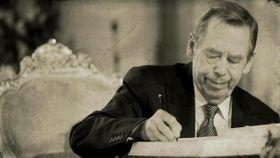 Václav Havel, photo: ČT24