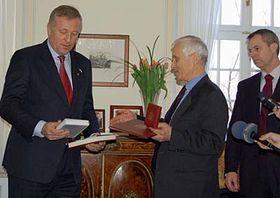 Mirek Topolánek (vlevo) aJosef Mašín, foto: ČTK