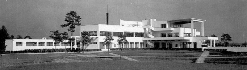 Le golf-club à Asaka, Japon, 1932, photo: public domain