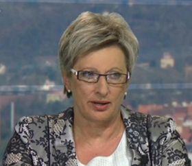 Marta Nováková, photo: ČT24