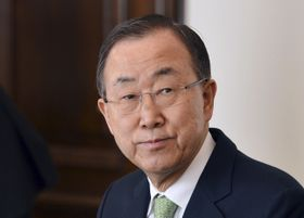 Ban Ki-moon, photo: ČTK