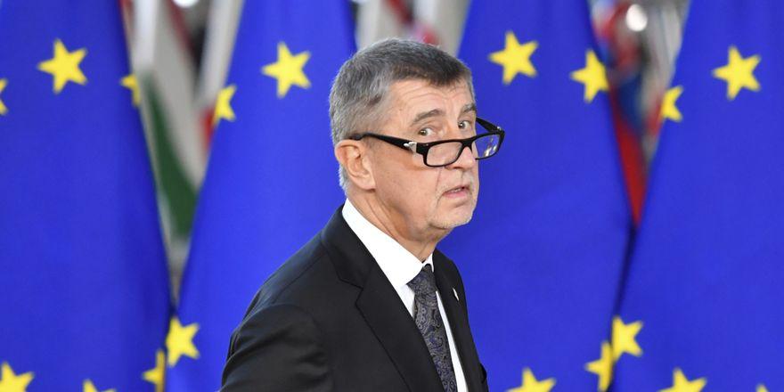 Andrej Babiš, photo: ČTK/AP/Geert Vanden Wijngaert