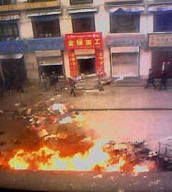 Nepokoje vTibetu, foto: ČTK