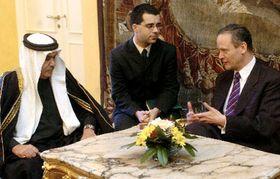 Minister Svoboda (right) with Baghdad governor Ali al-Haidri (left), photo: CTK