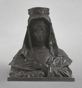 J. V. Myslbek: Santa Inés, foto: Archivo de la Galería Nacional