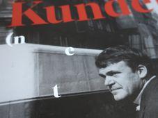 Photo: repro Milan Kundera (neztracen) v překladech / Moravská zemská knihovna