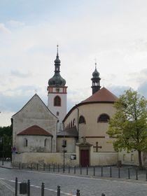 храм св. Вацлава в г. Стара Болеслав на месте церкви Космы и Дамиана, где по преданию был убит князь Вацлав, фото: Милош Турек