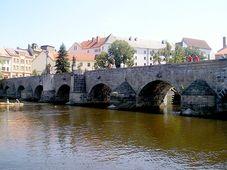Мост в г. Писек, Фото: Магдалена Кашубова, Чешское радио - Радио Прага