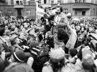 Prosincové shromáždění na Škroupově náměstí, foto: ČTK / Stanislav Peška