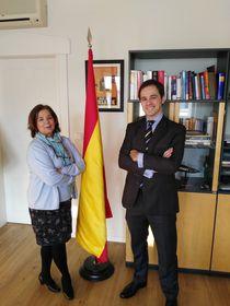 Luisa Fernanda Garrido Ramos y José Miguel de Lara Toledo, foto: Enrique Molina