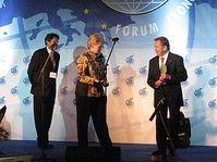Vaclav Havel au forum de Krynice, photo: Martin Dorazin, www.rozhlas.cz