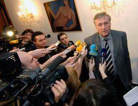 Mirek Topolánek, foto: ČTK