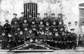 Czech volunteers in British uniforms in France, photo: archive of Military History Institute of Prague
