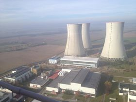 AKW Dukovany (Foto: Michal Malý, Archiv des Tschechischen Rundfunks)