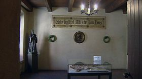 Jan Hus lived in this room, photo: Archive of the Czech Television