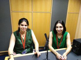 Carlota Heredia de Liniers y Yasmín Abdo, foto: Enrique Molina