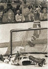 Comme le plus célèbre se présente le match qui a été disputé en 1976, photo: Lidové noviny, 6.1.2011