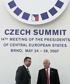 Summit prezidentů vBrně, foto: ČTK