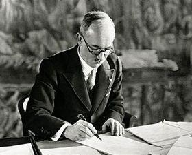Edvard Beneš, foto: ČT