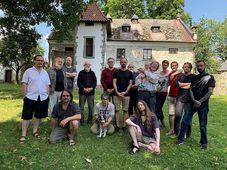 Surrealistas en castillo de Nový Staňkov, foto: archivo surrealista
