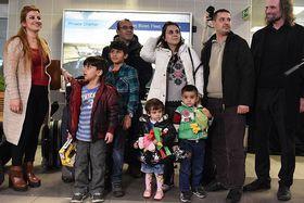 Беженцы из Ирака после прибытия в Чешскую Республику, Фото: Филип Яндоурек, Чешское радио